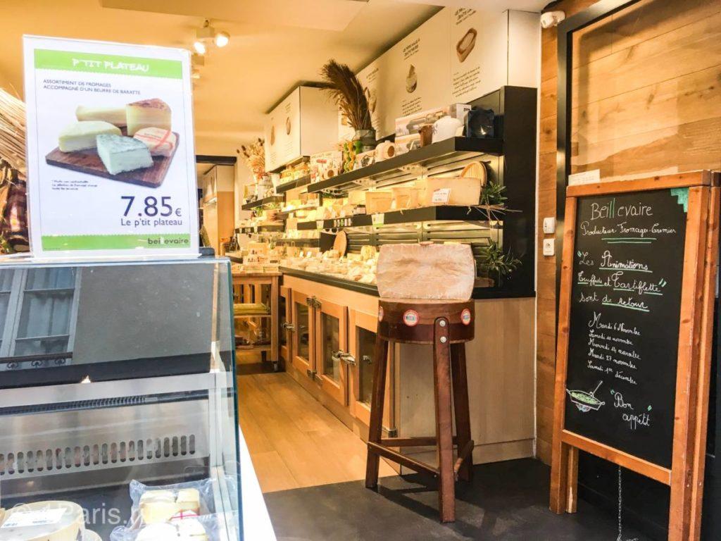 Сырная лавка в Париже