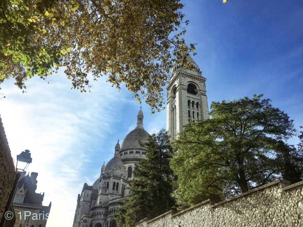 Базилика Сакре-Кер на Монмартре