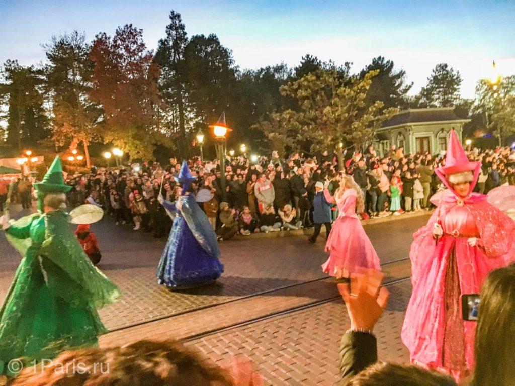 Танец фей на параде героев