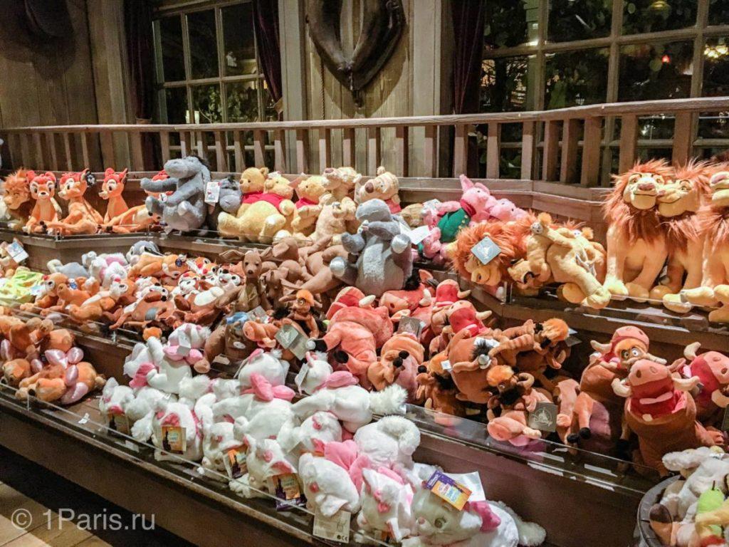 """Мягкие игрушки, герои мультфильмов """"Винни-Пух"""" и """"Король Лев"""""""
