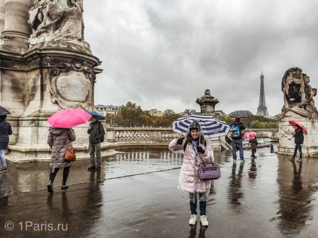 Обзорная экскурсия по Парижу в 15:15 в разгаре
