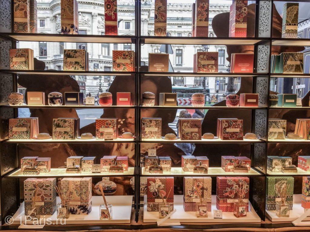 Цены на парфюм в магазине Фрагонар