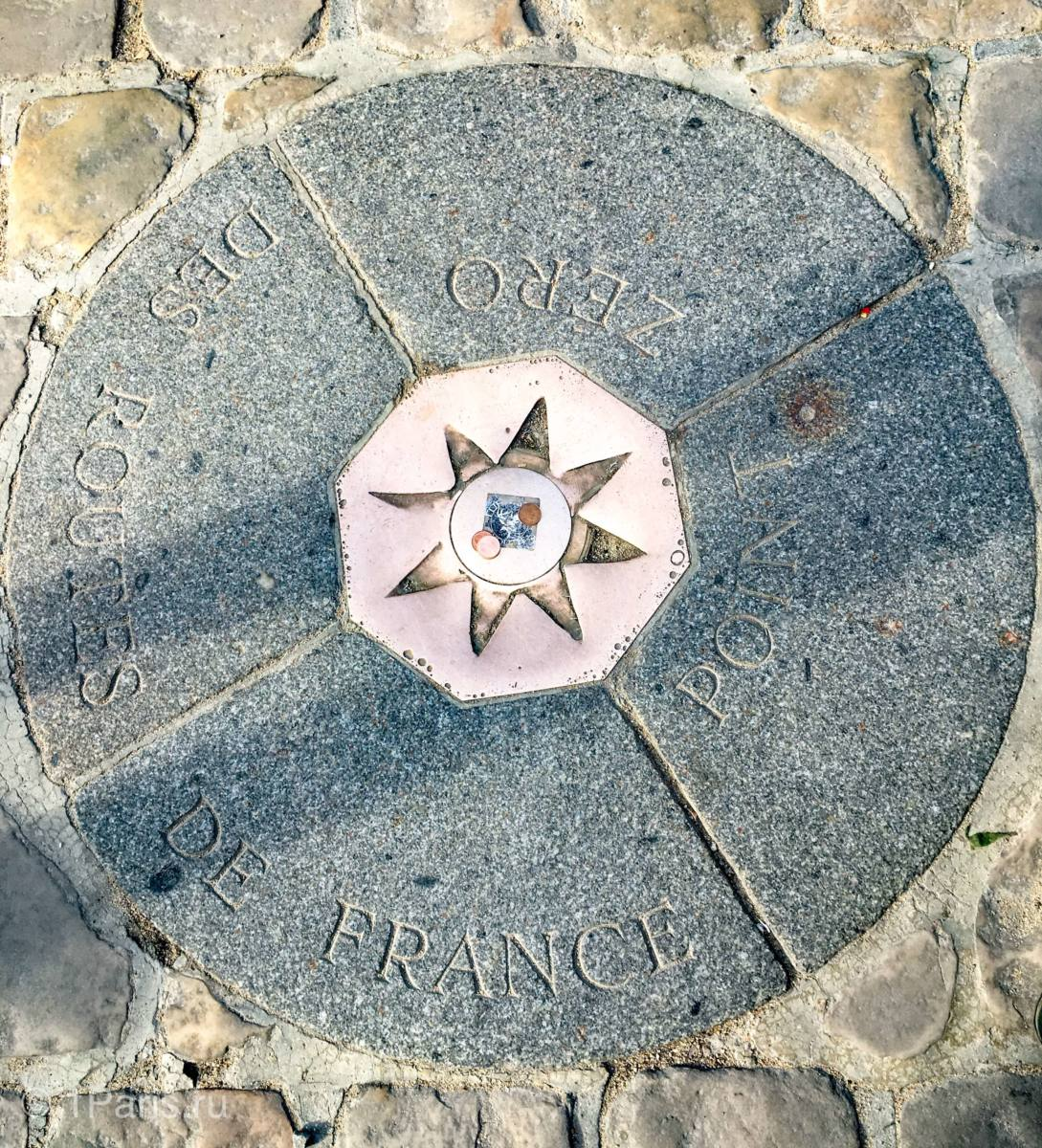 Нулевой километр Франции