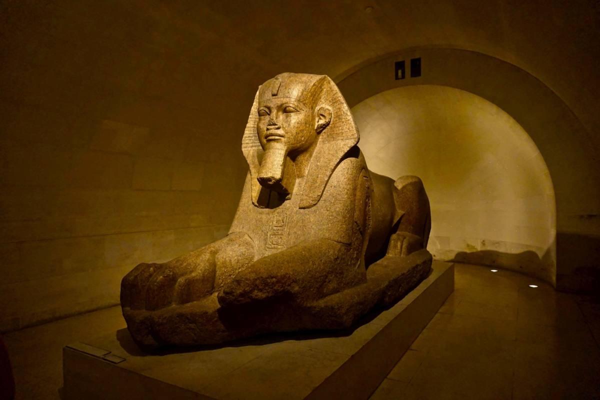 Отдел Древнего Египта в Лувре