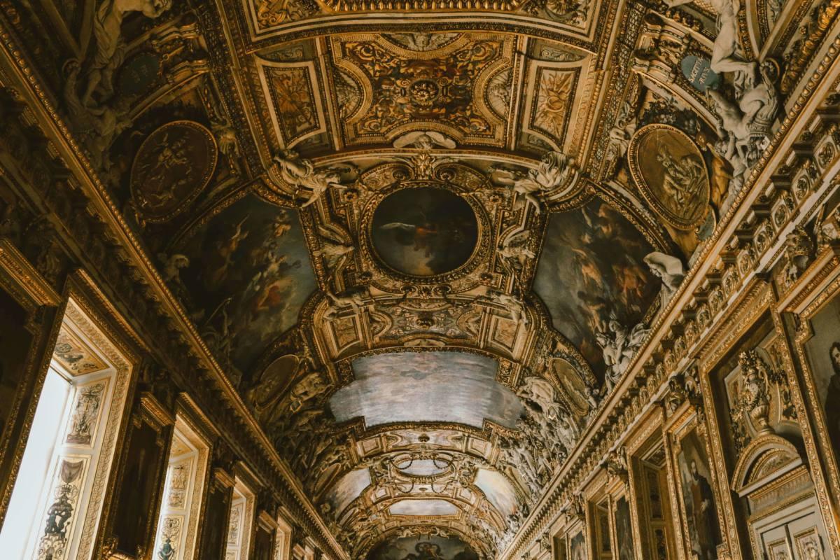 Живопись в Лувре