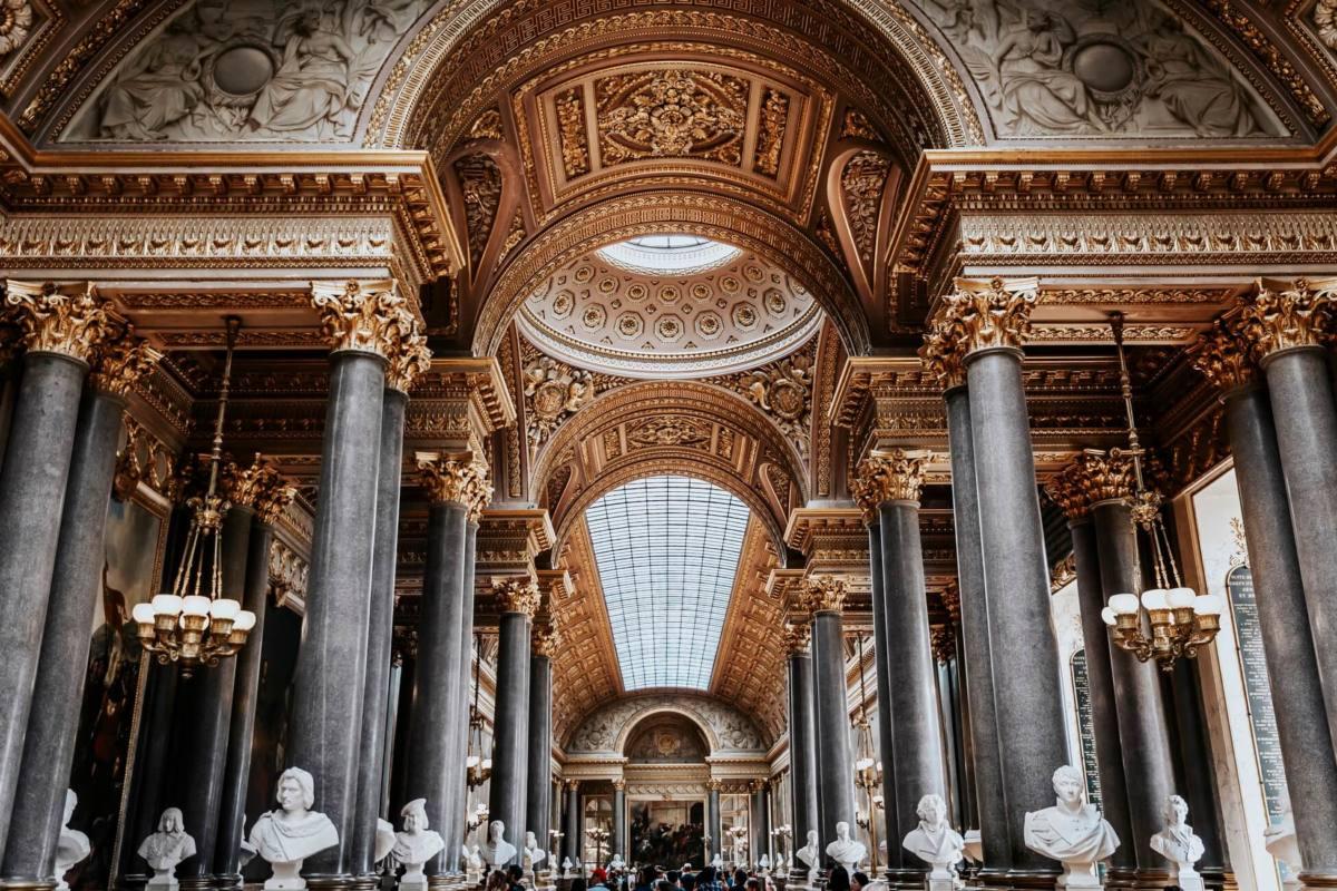 Интерьер Версальского дворца