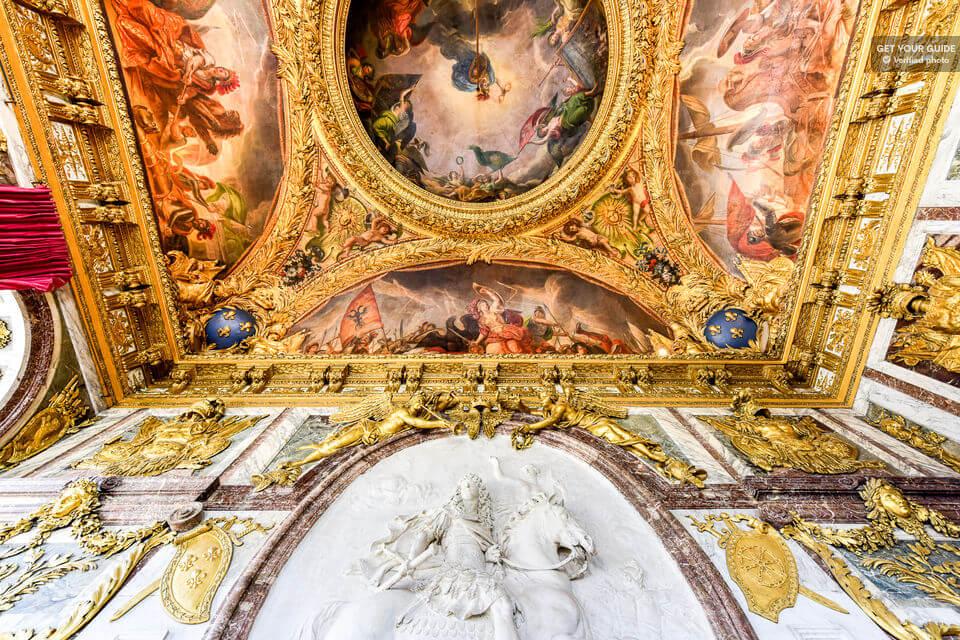 Залы Версаля