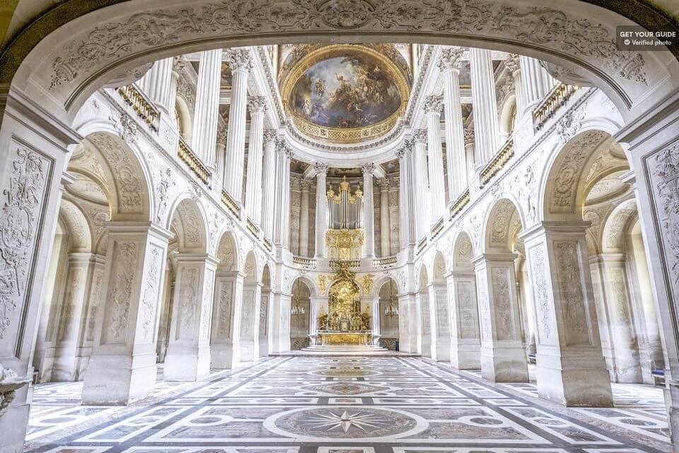 Королевская часовня Версаля