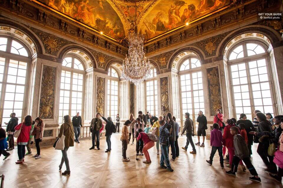 Сколько стоит входной билет в Версаль