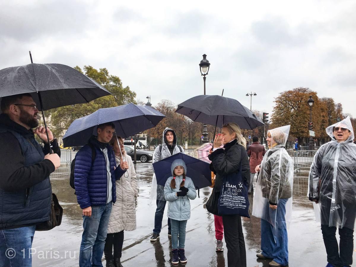 Куда сходить в Париже в дождь