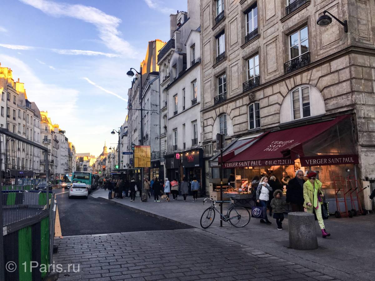 Квартал Марэ, 3 округ Парижа