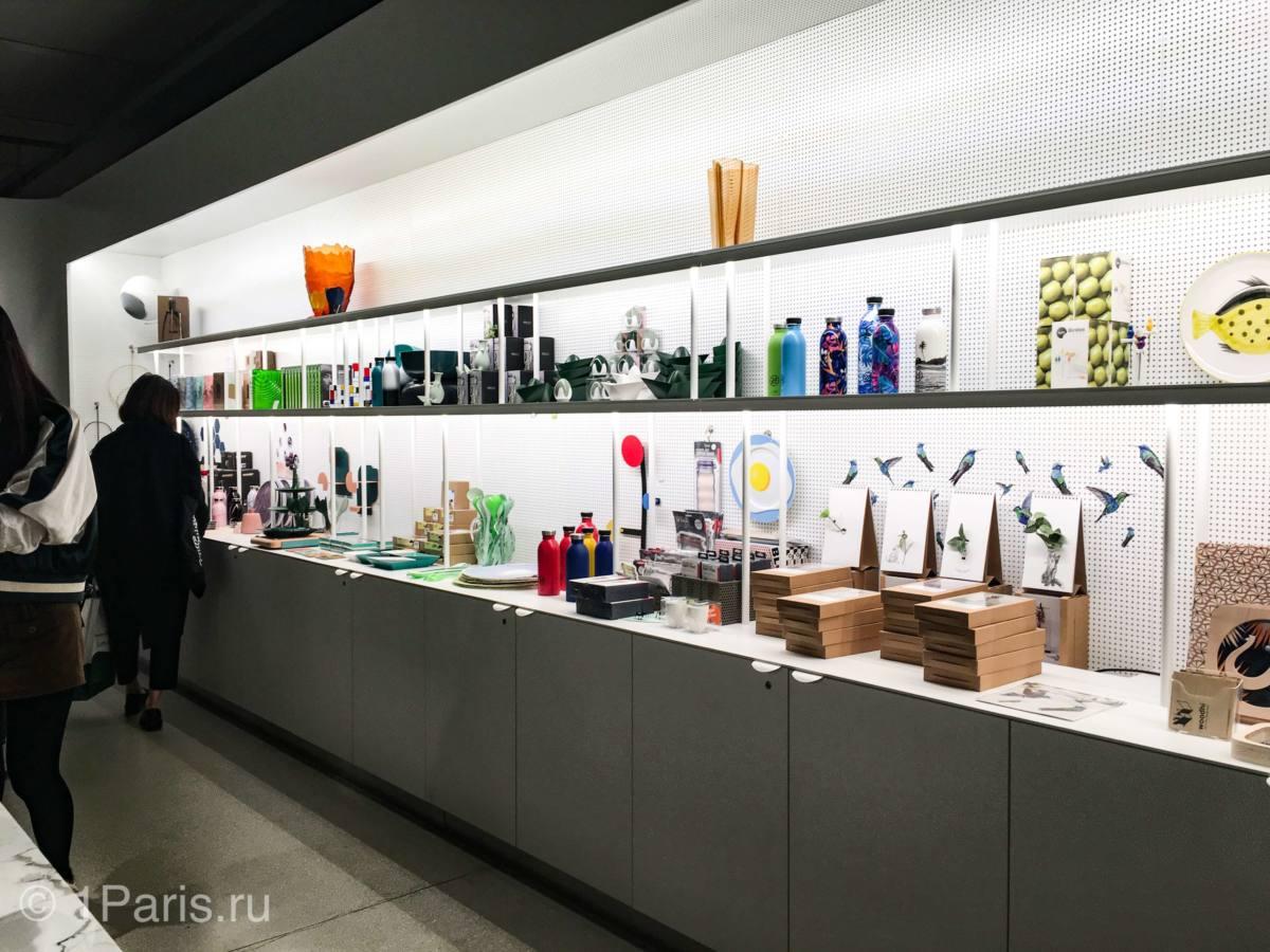 Магазины в музее Помпиду