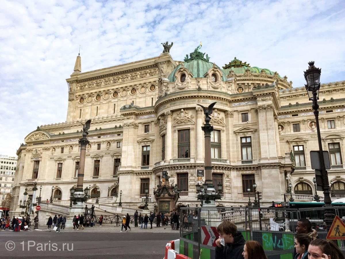 Уникальность здания Grand Opéra