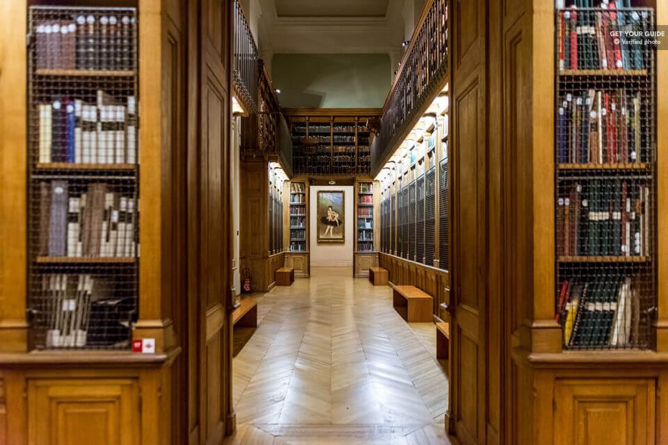 Библиотека в Гранд-Опера