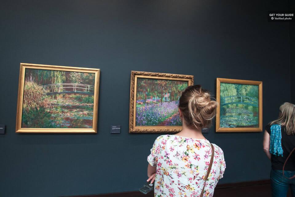Картины музея Орсе в Париже